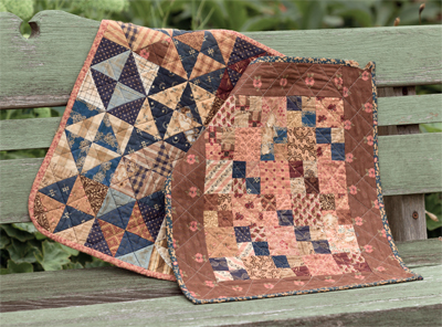 Scorched quilts