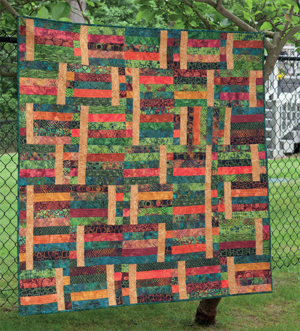 Square Rectangle quilt
