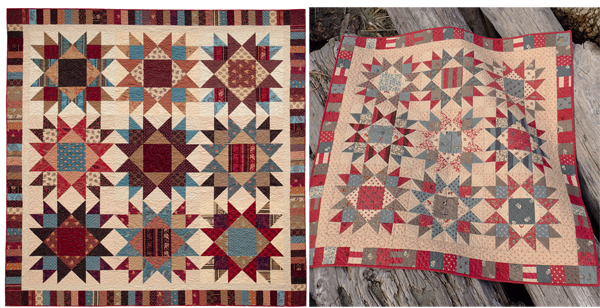Two Percent large and small quilts