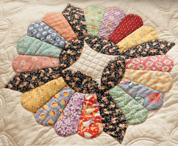 Inspired by antique quilts 3 stunners their remakes for What to do with an old quilt