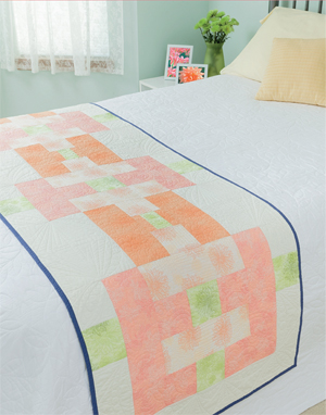Art Gallery bed runner