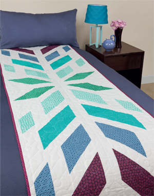 Burst bed runner