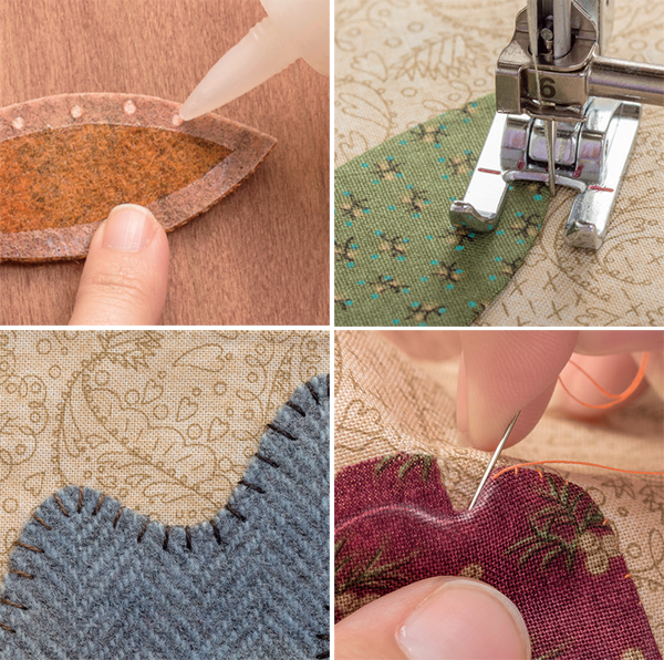 How-to photos from Simple Applique