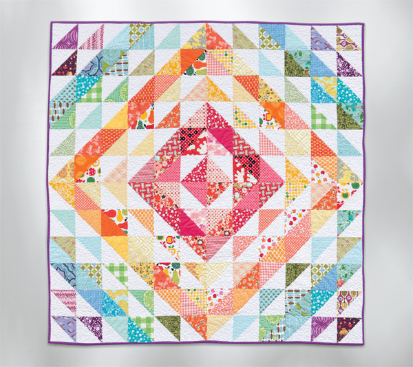 11 simple quilt blocks you can make in 10 minutes - Stitch This ... : half square quilt patterns - Adamdwight.com