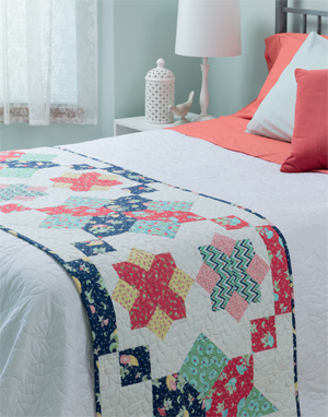 Hester's Crossing bed runner