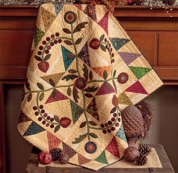 Homestead Harvest quilt from Simple Appeal
