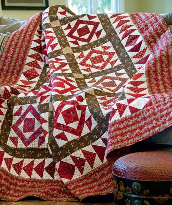 Jack in the Pulpit quilt