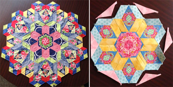Kara's Millefiore Quilt-Along blocks