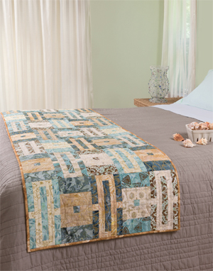 Linked bed runner