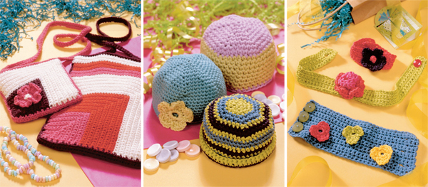 Projects from Crochet from the Heart