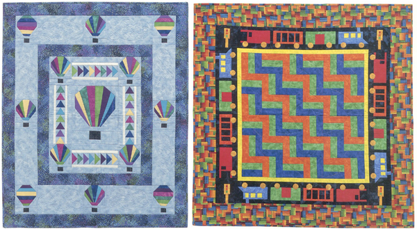Projects from Easy Paper-Pieced Baby Quilts