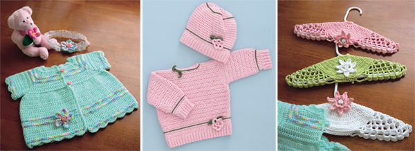 Projects from Sweet Baby Crochet