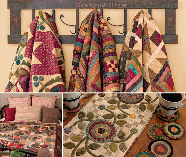 Quilt photos from Simple Applique
