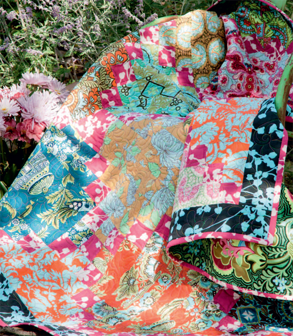 Russian Sage quilt