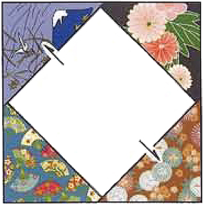 Square-in-a-Square quilt block