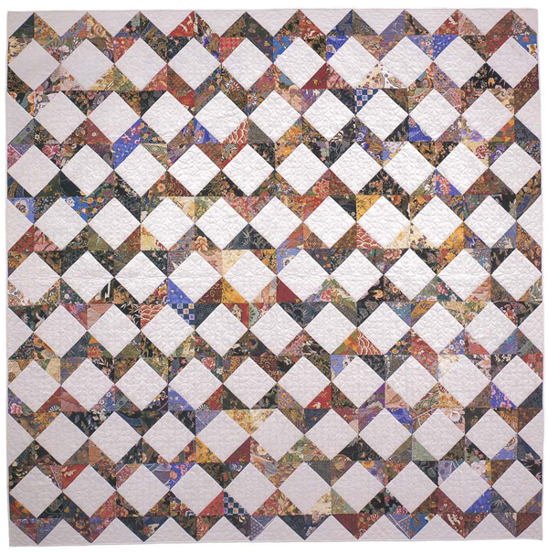 Square in a Square quilt