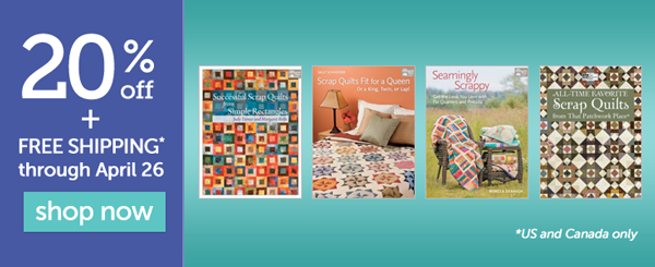 Save 20% on select books + free shipping!