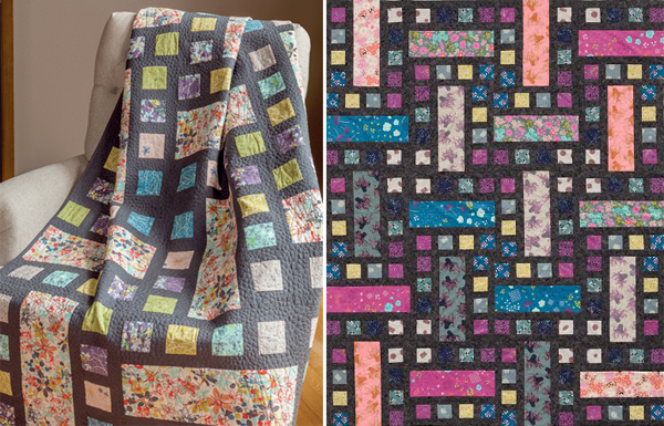 Film Strip quilt from Think Big