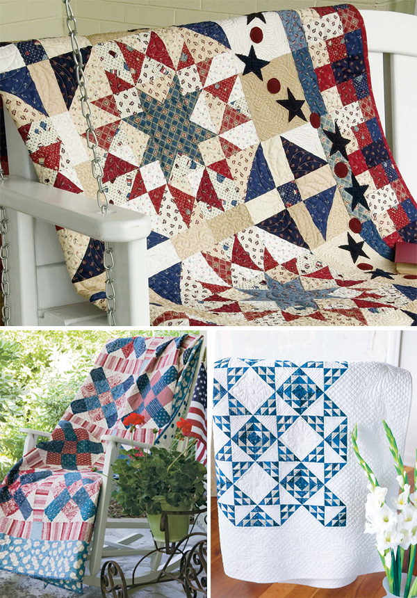 Quilts from Red, White, and Sometimes Blue