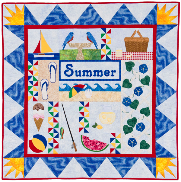 From The Quilter's Home: Summer
