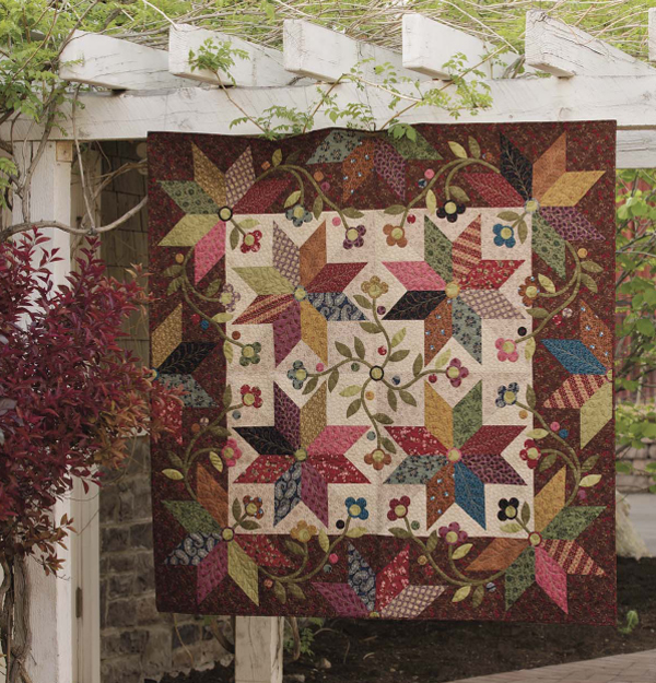 Mocha Stars quilt from Simple Comforts