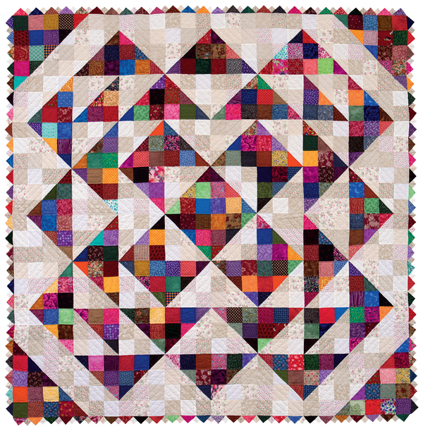 Living a charmed life: fun charm-square quilt patterns (+ sale ... : falling charm quilt - Adamdwight.com
