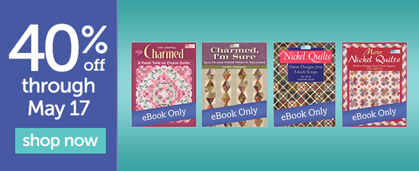 Save 40% on select eBooks this week