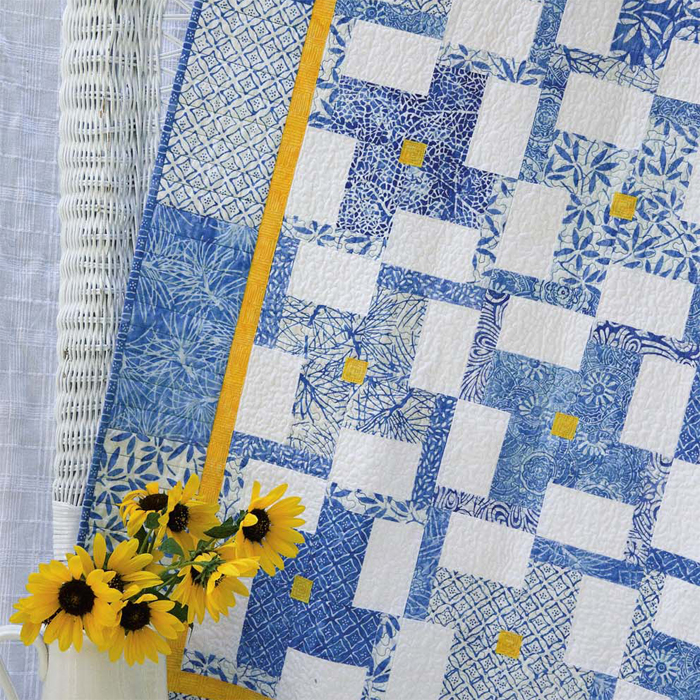 Bits of Sunshine quilt
