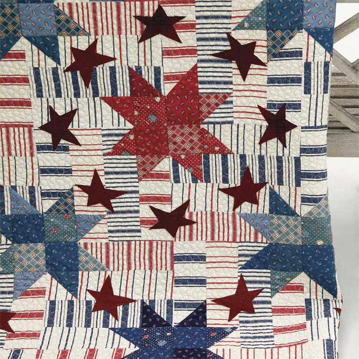 remembering at quilts and com bethcarneystudio white red quilt inspiration waves blue
