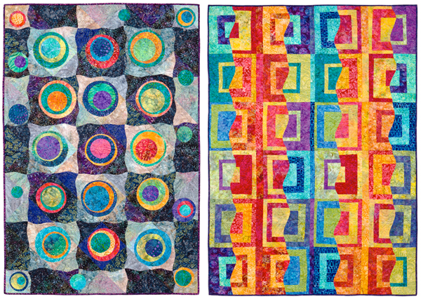 From Dynamic Quilts with Easy Curves