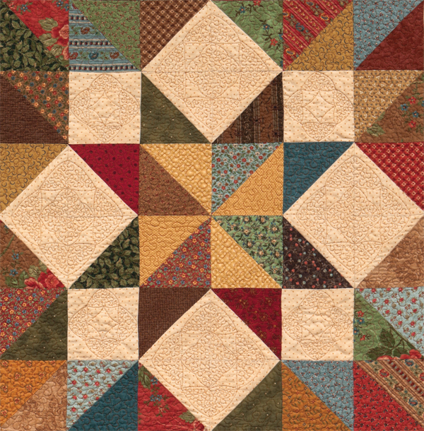 From Easy and Fun Free-Motion Quilting