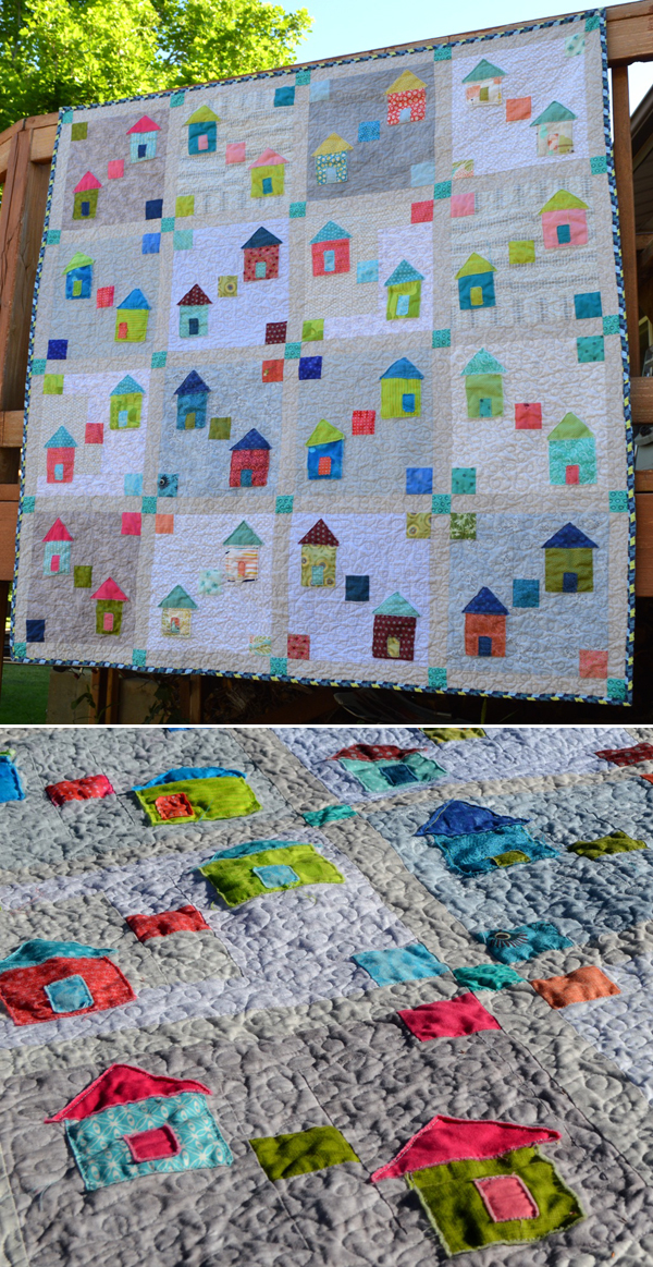 Martingale staff's Village Square quilt
