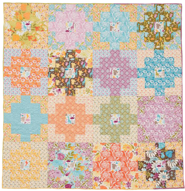 Mary's Building Blocks quilt