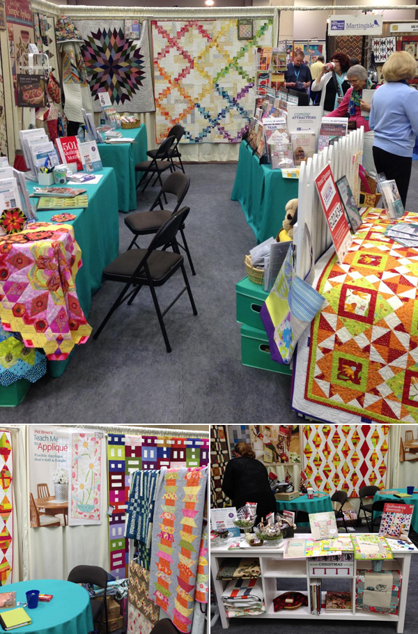 Spring Quilt Market 2015--Martingale booth
