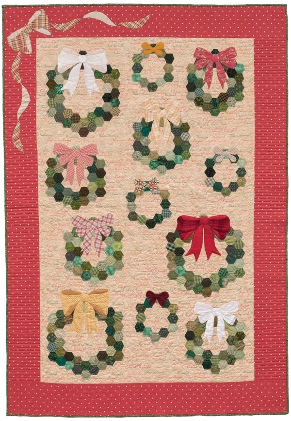 Welcome Christmas quilt