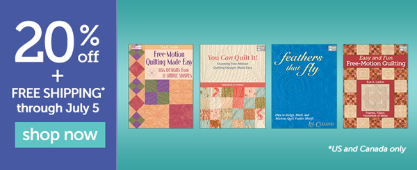 Get 20% off + free shipping on select books!