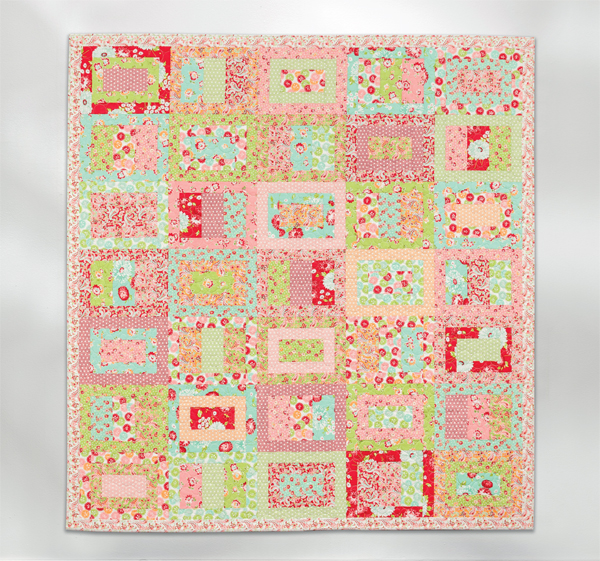 Candy Bar Lane quilt