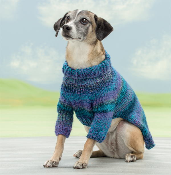 Cecil sweater from Seamless Knits for Posh Pups
