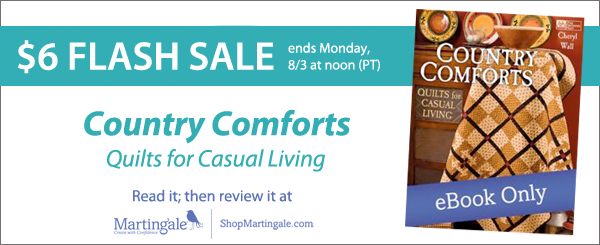 Country Comforts flash-sale banner