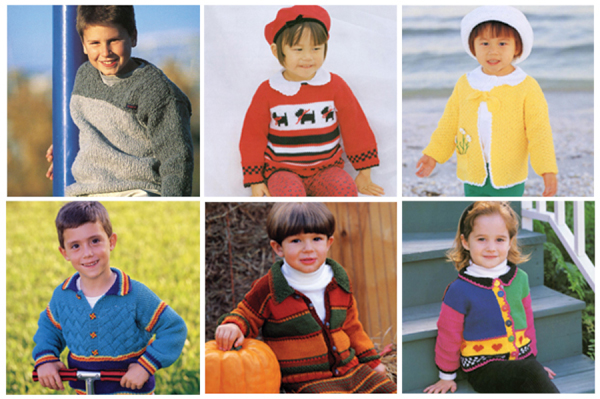 Back-to-school knits for kids