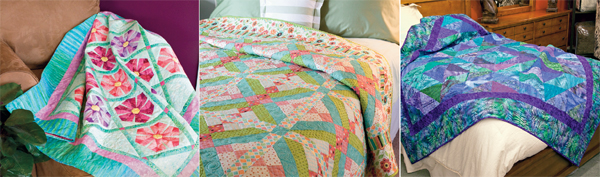 From Eye-Catching Quilts