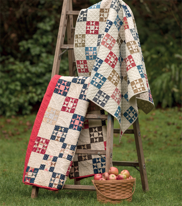 Petite Stars quilts