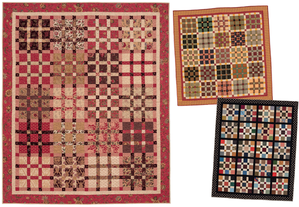 Plaza Mayor scrap quilts