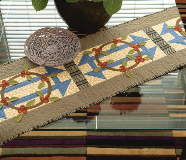 Churn Dash Stretch table runner