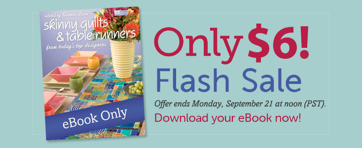 Flash sale: Skinny Quilts and Table Runners