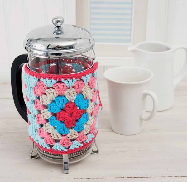French-press cozy from Boho Crochet