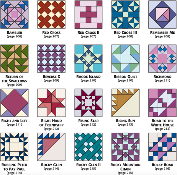 Build An Epic Collection Of Quilt Block Patterns Sale