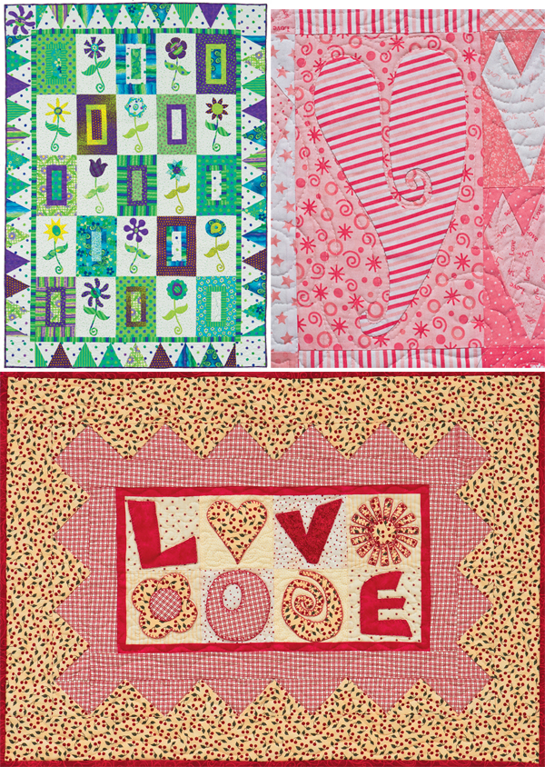 From Fresh and Fabulous Quilts