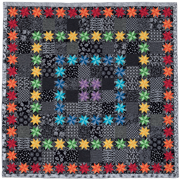 Star Bright quilt - alternate colorway