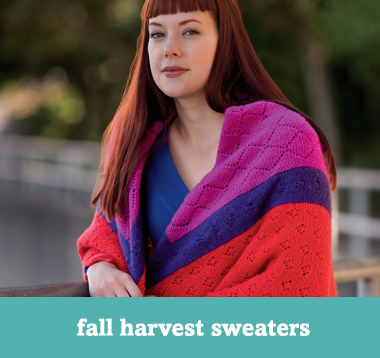 Fall harvest sweaters